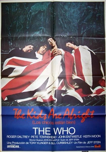 affiche cinéma The kids are alright, Affiches anciennes (cinéma, theâtre, publicitaire), Image | Puces Privées