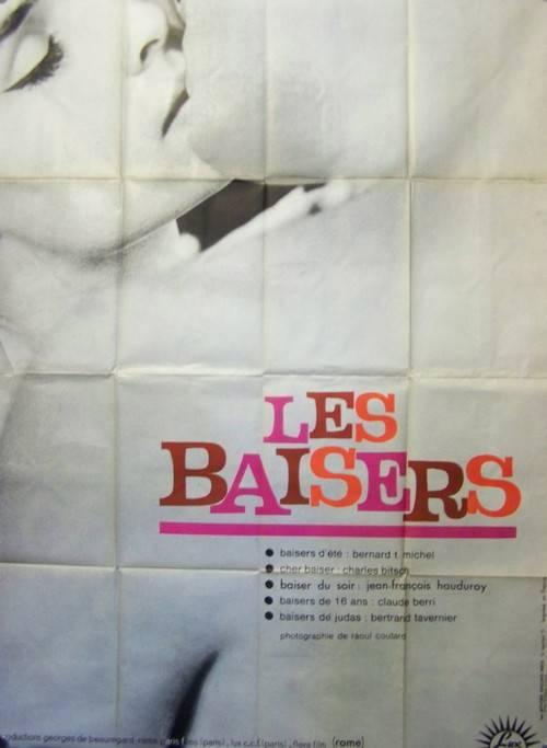 affiche cinéma Les baisers, Affiches anciennes (cinéma, theâtre, publicitaire), Image | Puces Privées