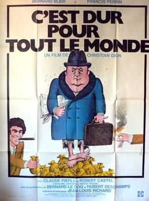 affiche C'est dur pour tout le monde, Affiches anciennes (cinéma, theâtre, publicitaire), Image | Puces Privées