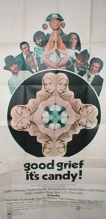 affiche cinéma Candy, Affiches anciennes (cinéma, theâtre, publicitaire), Image   Puces Privées