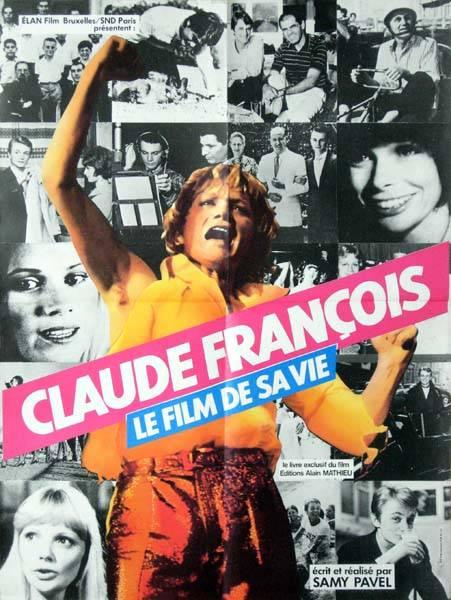 affiche cinéma Claude François, Affiches anciennes (cinéma, theâtre, publicitaire), Image | Puces Privées