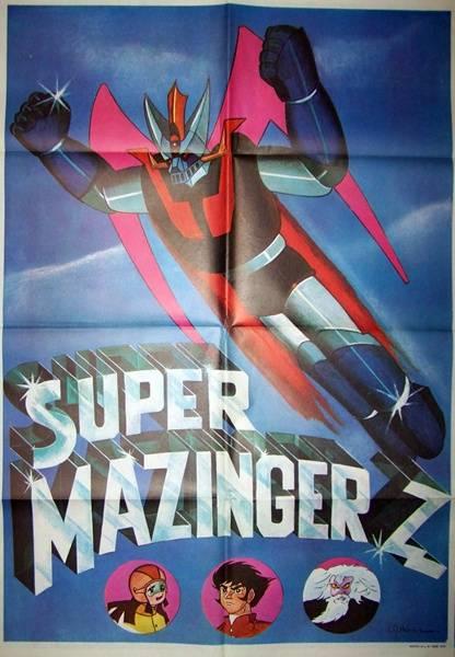affiche Super Mazinger ,Goldorak, Affiches anciennes (cinéma, theâtre, publicitaire), Image | Puces Privées