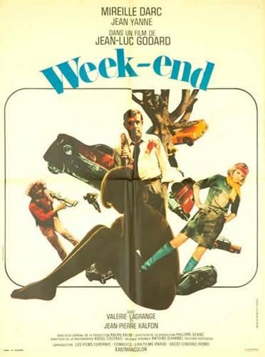 affiche cinéma Week-end, Affiches anciennes (cinéma, theâtre, publicitaire), Image | Puces Privées