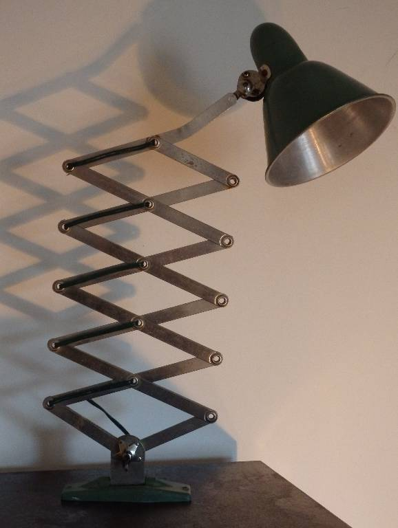 Lampe / applique d'atelier extensible accordéon, Atelier, Luminaires | Puces Privées