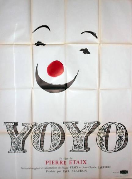 affiche cinéma Yoyo, Affiches anciennes (cinéma, theâtre, publicitaire), Image | Puces Privées
