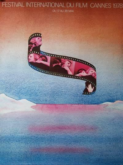 affiche Festival de Cannes 1978, Affiches anciennes (cinéma, theâtre, publicitaire), Image | Puces Privées