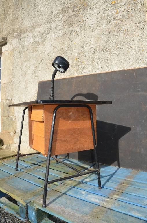 Petit bureau vintage années 50   Puces Privées