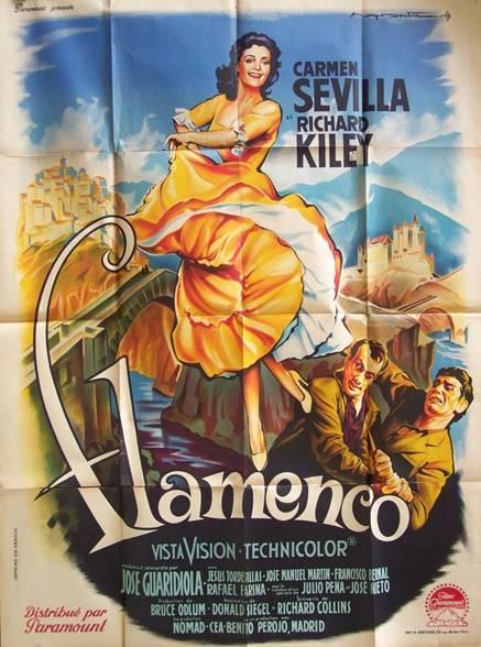 affiche cinéma Flamenco | Puces Privées