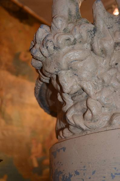Fonte décorative Val d'Osne, Antiquités du jardin, fontaines, Eléments d'architecture | Puces Privées