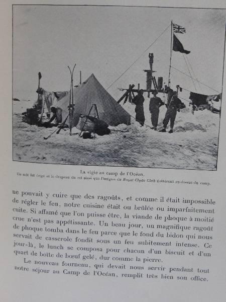 No - 140 -  Mon expédition au sud polaire 1914 - 1917 par Sir Ernest Shackleton  ., Voyages, Livres | Puces Privées