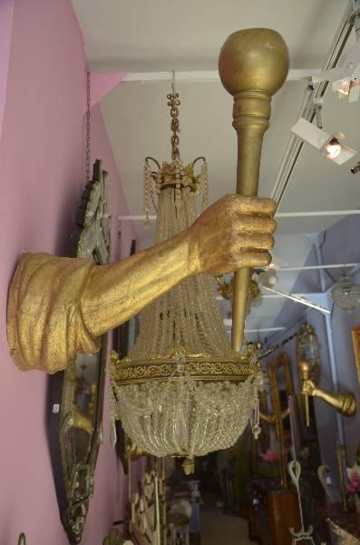 Bras de lumière de la Belle et la Bête, Objets de curiosité, Collections | Puces Privées