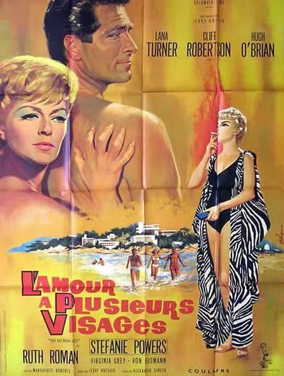 affiche cinéma L'amour à plusieurs visages, Affiches anciennes (cinéma, theâtre, publicitaire), Image   Puces Privées