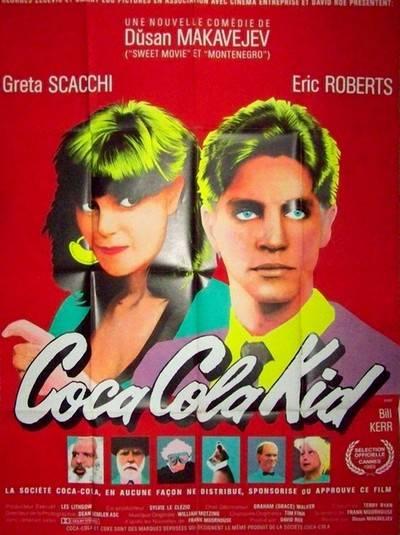 Affiche cinéma Coca cola kid, Affiches anciennes (cinéma, theâtre, publicitaire), Image | Puces Privées