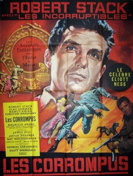 affiche cinéma Les corrompus, Affiches anciennes (cinéma, theâtre, publicitaire), Image | Puces Privées