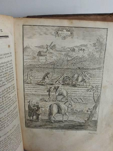 No - 148 -  La nouvelle MAISON RUSTIQUE ou ECONOMIE RURALE daté  1740  deux volumes, Avant 1900, Livres | Puces Privées