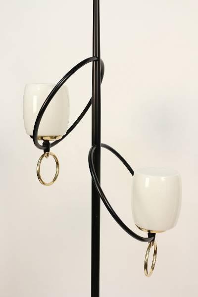 lampadaire à boucle par Stilnovo 1950, Lampes, Luminaires | Puces Privées