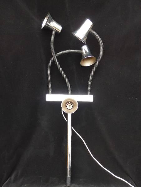 Luminaire 4 spots chromés articulés années 70, Lampes, Luminaires | Puces Privées