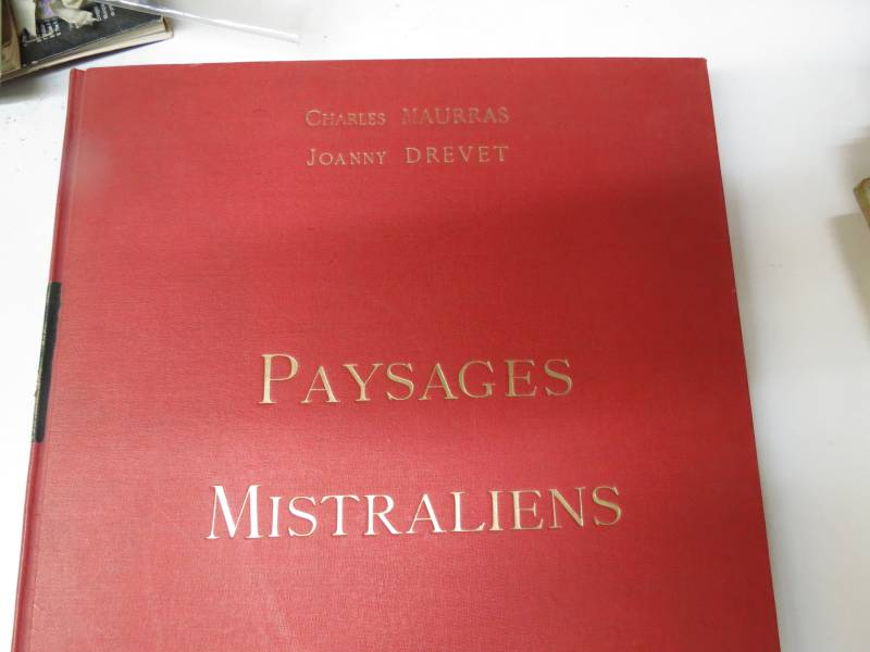 MAURRAS Charles. PAYSAGES MISTRALIENS, Livres rares (1ère édition, livres illustrés, tirages limités), Livres   Puces Privées