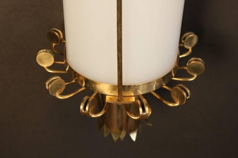 Trio de grandes appliques Maison Lunel 1950, Appliques, Luminaires | Puces Privées
