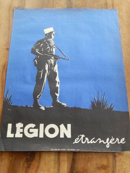 affiche légion étrangère, Affiches anciennes (cinéma, theâtre, publicitaire), Image | Puces Privées