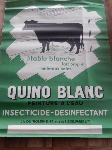affiche Quino blanc, Affiches anciennes (cinéma, theâtre, publicitaire), Image | Puces Privées