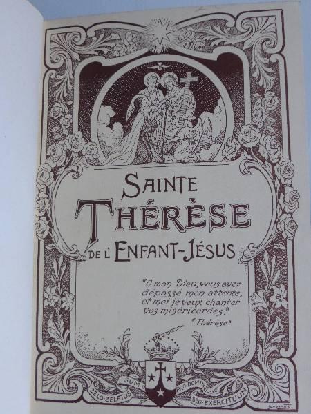 No - 155 -  Sainte Thérèse de l'Enfant-Jésus - Histoire d'une âme écrite par elle même ., Ouvrages religieux, Art religieux | Puces Privées