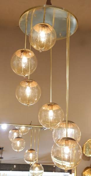 lustre Stilonvo 1950, Suspensions, Luminaires | Puces Privées