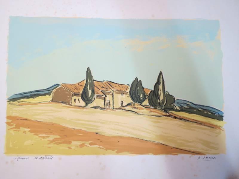 Antoine SERRA, Gravures, dessins, Peinture   Puces Privées