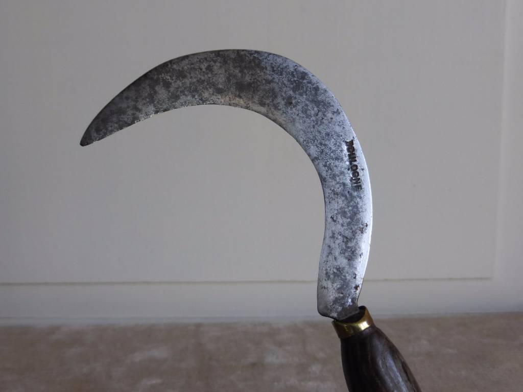 No - 171 -  Serpettes fer et bois ., Art populaire, Collections | Puces Privées