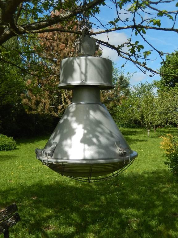 lampe d'usine  gros modèle, Atelier, Luminaires   Puces Privées
