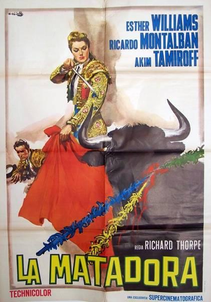 Affiche ancienne La matadora,Italienne,corrida, Affiches anciennes (cinéma, theâtre, publicitaire), Image   Puces Privées