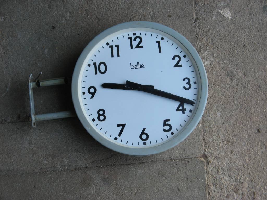 horloge de gare, Mobilier industriel, Mobilier | Puces Privées