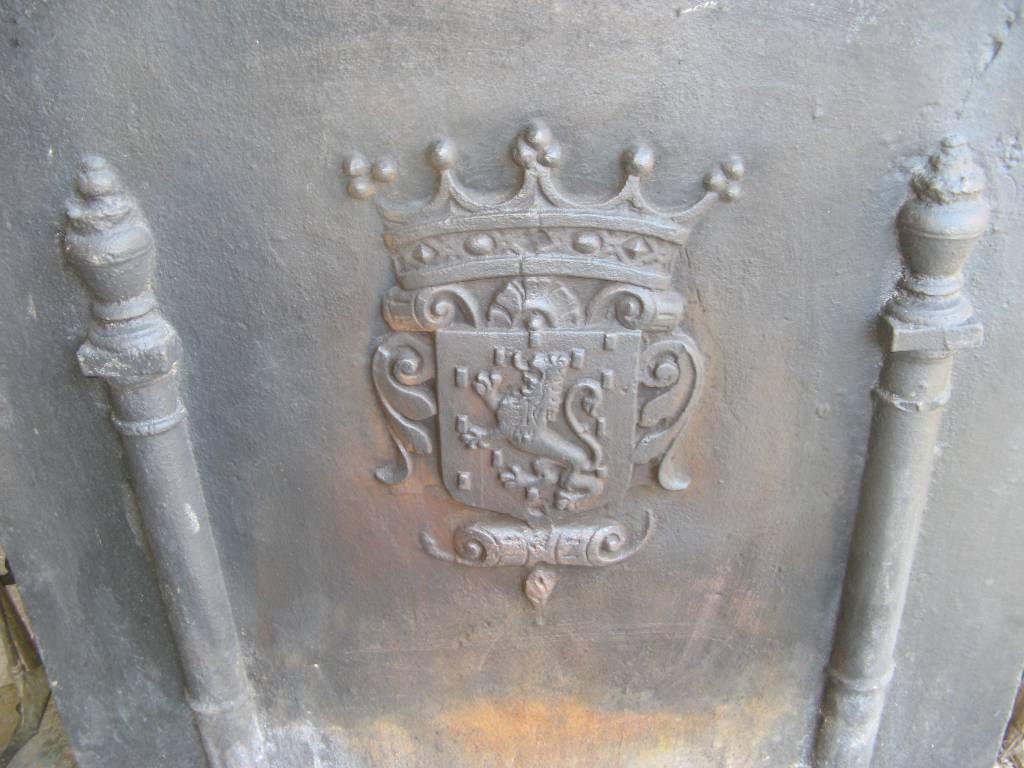 plaque de cheminée, Plaques de cheminée, Eléments d'architecture | Puces Privées