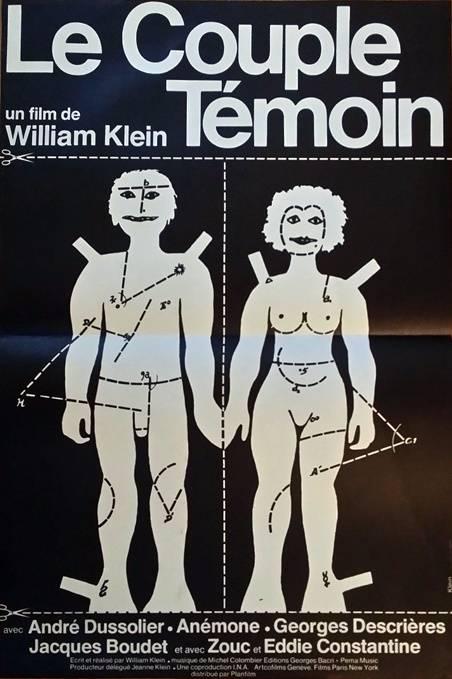 affiche cinéma ancienne,William Klein,1975, Affiches anciennes (cinéma, theâtre, publicitaire), Image | Puces Privées