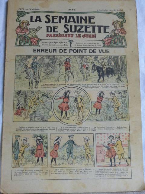 No - 183 -  La Semaine de Suzette 1912  -  17 numéros, Jeunesse, Livres   Puces Privées