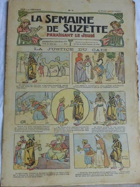 No - 184 -  La Semaine de Suzette 1913 .   39 numéros ., Jeunesse, Livres   Puces Privées