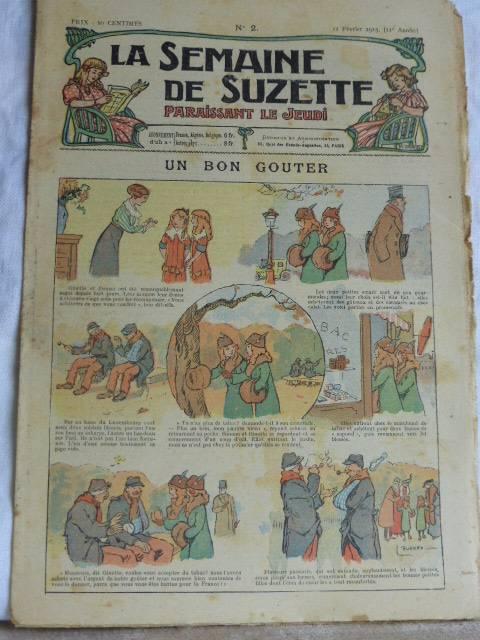 No - 186 -  La Semaine de Suzette 1915 - 33 numéros, Jeunesse, Livres   Puces Privées