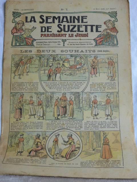 N - 187 -  La Semaine de Suzette 1916 - 42 numéros, Jeunesse, Livres | Puces Privées