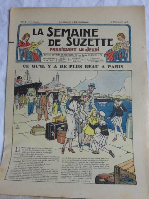 No - 190 -  La Semaine de Suzette - 1938 - Total  29 numéros ., Jeunesse, Livres | Puces Privées