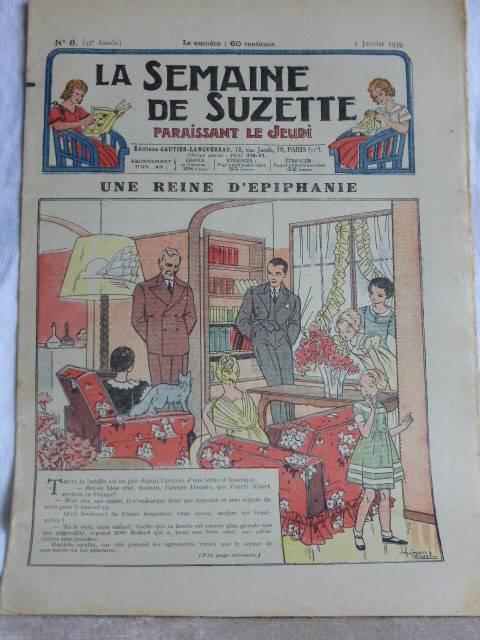 No - 191 -  La Semaine de Suzette 1939 - 1940  - Total   41 numéros, Jeunesse, Livres | Puces Privées