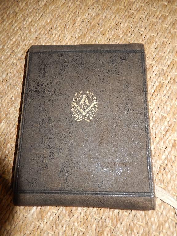 portefeuille franc maçon, Objets de curiosité, Collections   Puces Privées