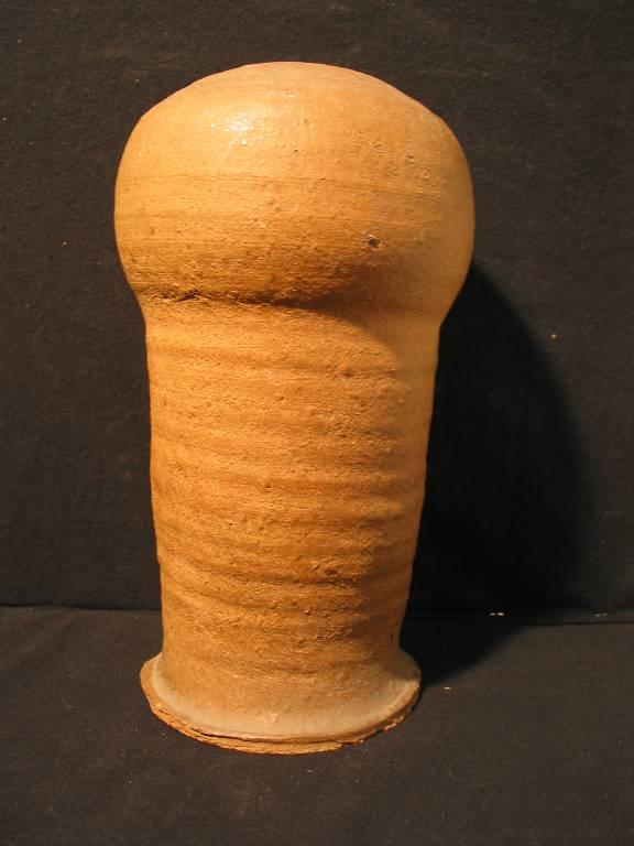 Marotte en terre cuite de dentelière XIXème de MENIGOUTE, Art populaire, Collections | Puces Privées
