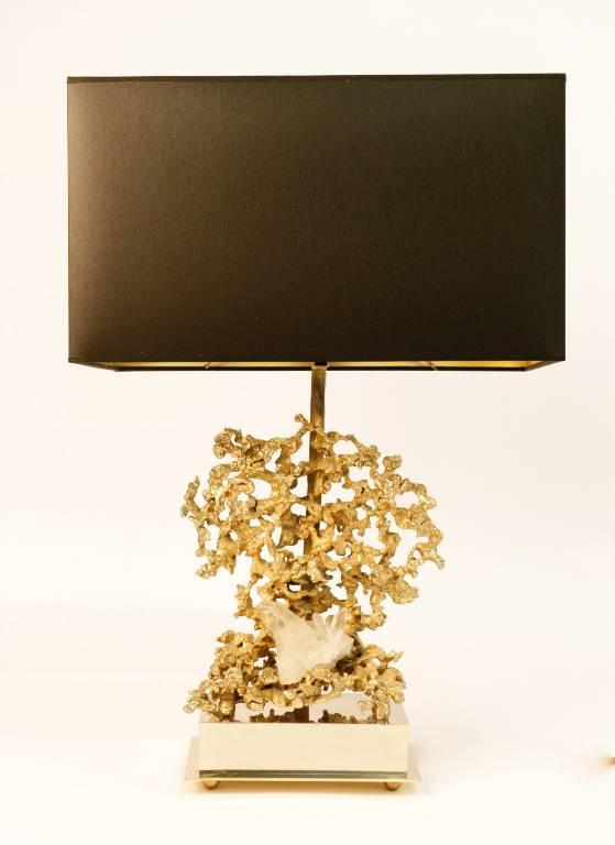 lampe signée de Claude Victor Boeltz 1970, Lampes, Luminaires | Puces Privées