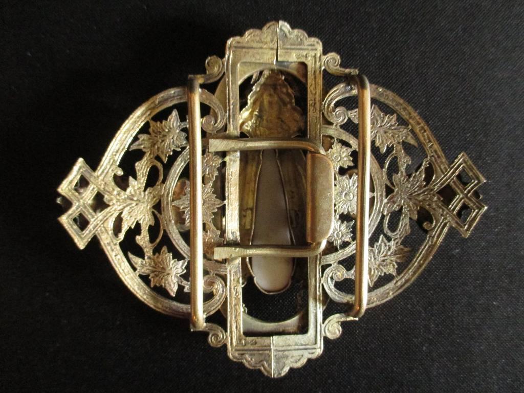 ancienne boucle ceinture fleur et scarabée Bronze Art Nouveau fin XIX ème, Accessoires, Vêtements et accessoires | Puces Privées