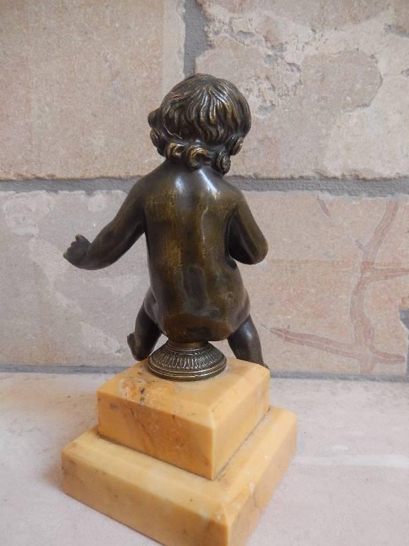 putto en bronze, Bronzes anciens, Sculptures | Puces Privées