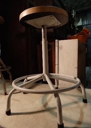 Tabouret industriel d'atelier, Chaises - tabourets, Sièges | Puces Privées