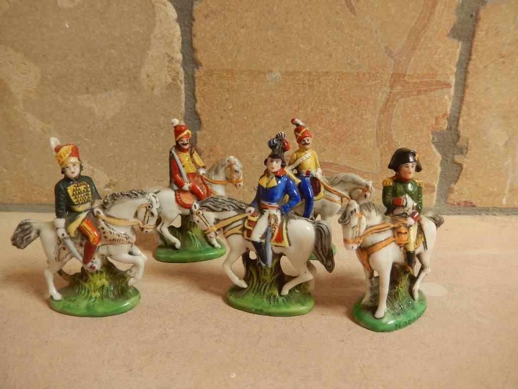 figurines militaires porcelaine allemandes Sitzendorf, Autres, Militaria | Puces Privées
