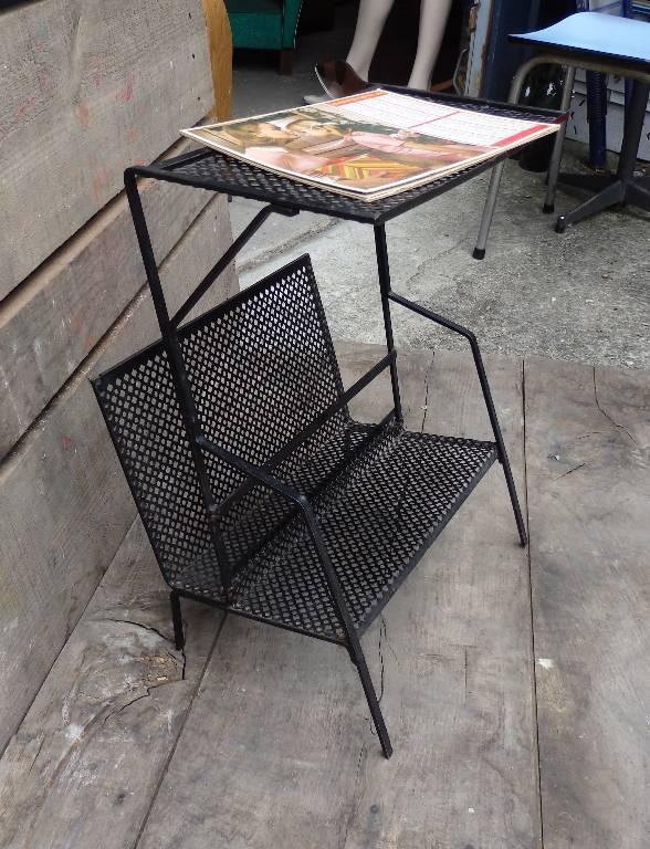 Table porte-revues Mathieu Matégot, Autres, Mobilier | Puces Privées