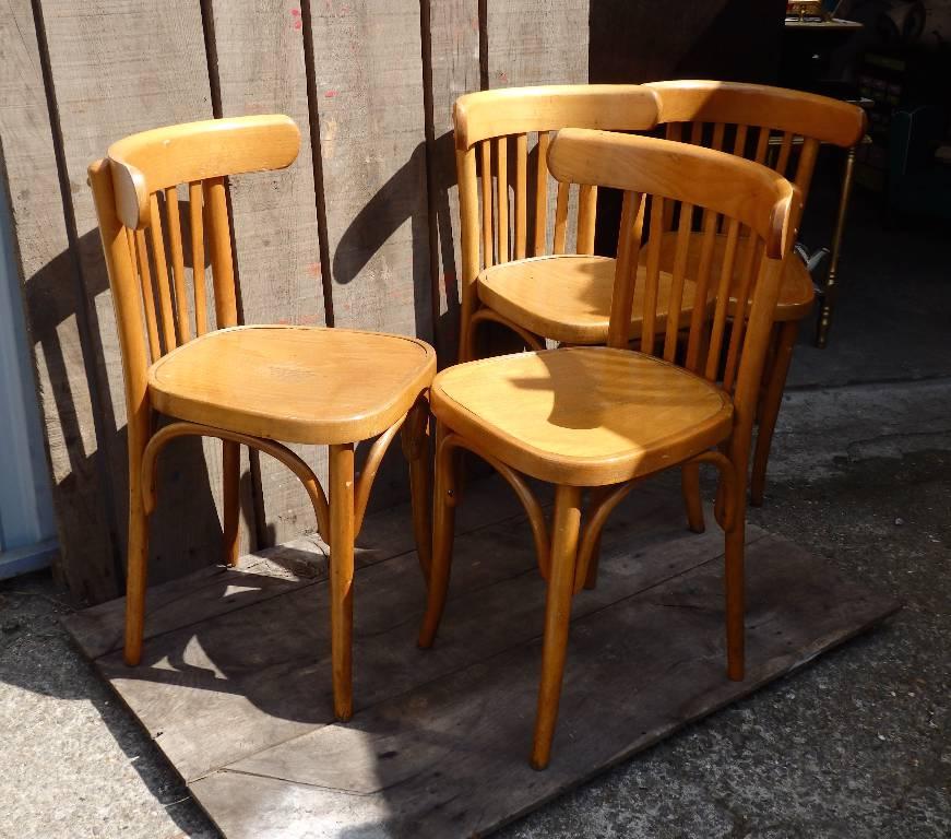 Chaise de bistrot BAUMANN   Puces Privées