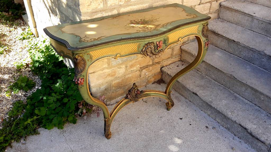 console louis XV | Puces Privées